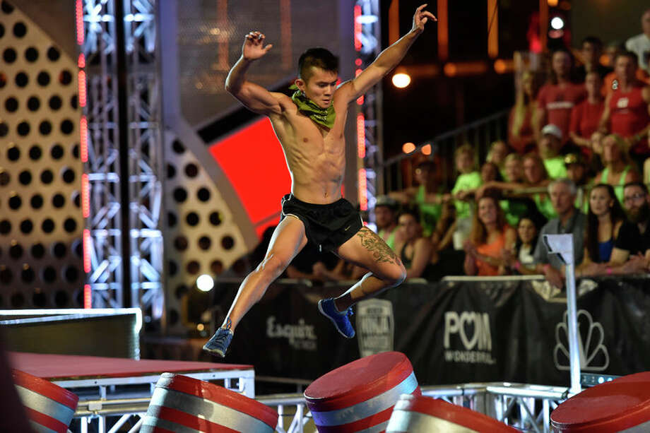 Van Tran competes in American Ninja Warrior. (For more photos from the show, scroll through the gallery.) Photo: NBC, David Becker/NBC / 2015 NBCUniversal Media, LLC