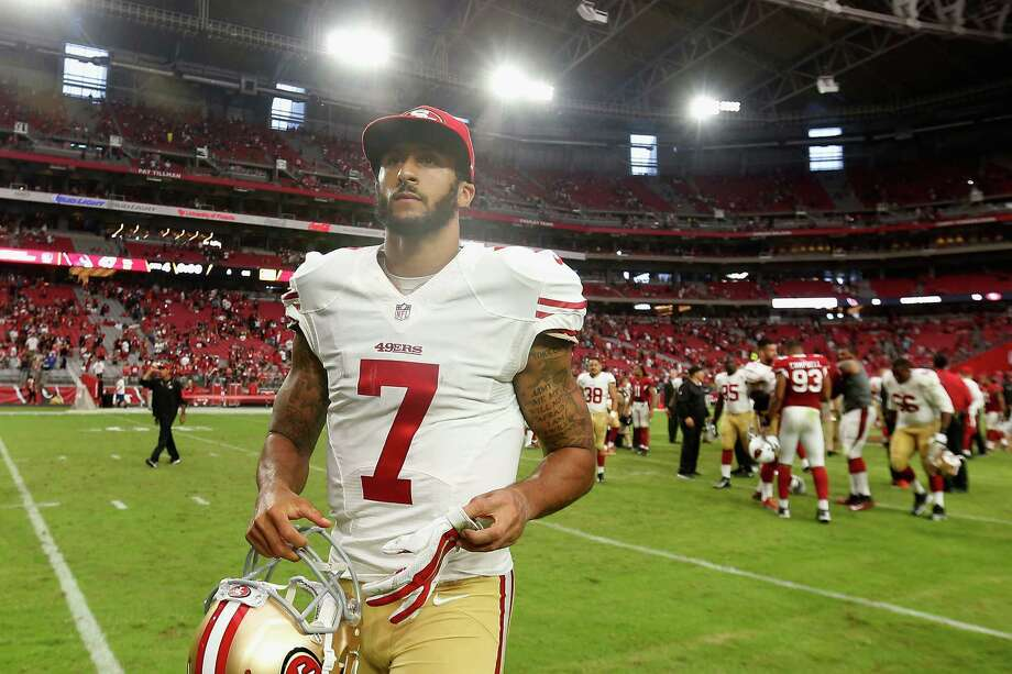 Colin Kaepernick. Photo: Christian Petersen / Getty Images / 2015 Getty Images