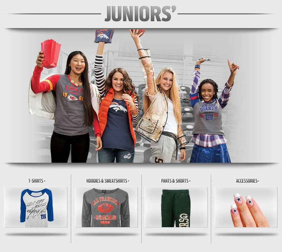 NFL Juniors Apparel Photo: NFLShop