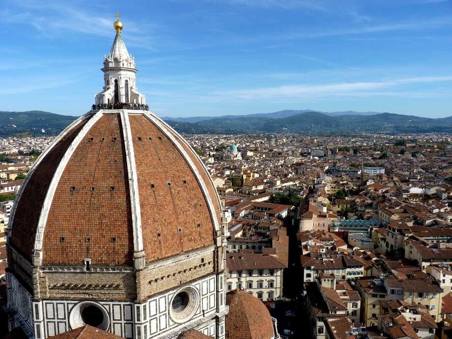While the Piazzale Michelangelo is definitely worth a visit, the square is not the only place to see the red roofs of Florence. Hike up the steps to the top of the tower of the Cathedral of Santa Maria del Fiore (otherwise known as the Duomo). You'll have gotten a good workout and you'll be rewarded with an incredible view. Photo: Dudva, WIkimedia Commons
