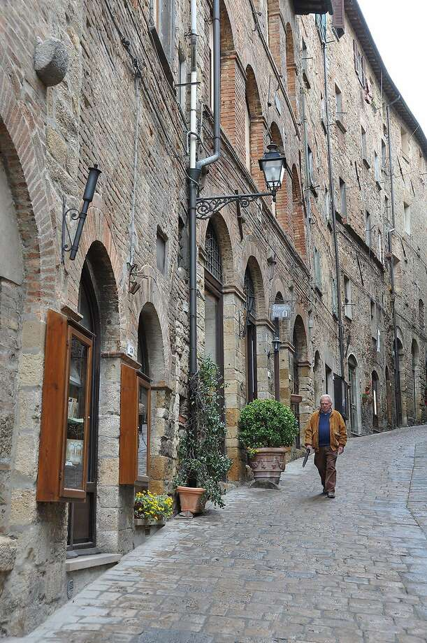 Beautifully preserved, Volterra is small enough to be mostly traffic-free, yet big enough to have good sightseeing and plenty of restaurants. Photo: Cameron Hewitt, Rick Steves' Europe