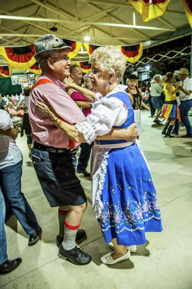 Dancing to some Oompah music is a tradition at Fredericksburg's Oktoberfest, Friday, Oct. 2, through Sunday, Oct. 4. For more info, go to www.oktoberfestinfbg.com. Photo: Courtesy Oktoberfest In Fredericksburg