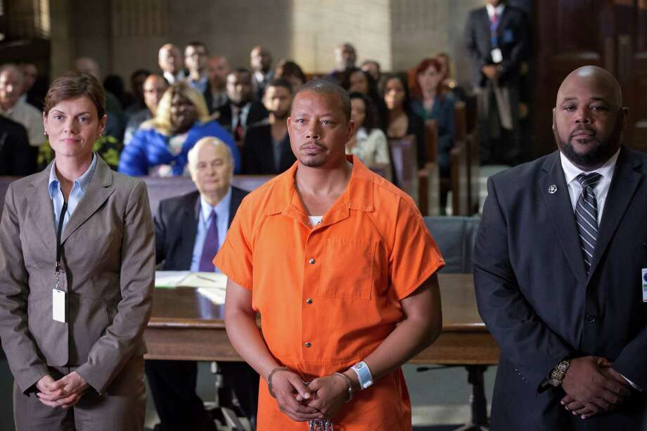 "In this image released by Fox, Terrence Howard portrays Lucious Lyon in the season two premiere of ""Empire."" Google said Friday the most searched query about fall premieres over the past week was about when Fox's ""Empire"" would return. The new season debuted to 16.2 million viewers on Wednesday night, the Nielsen company said. (Chuck Hodes/FOX via AP) ORG XMIT: NYET505 / FOX"