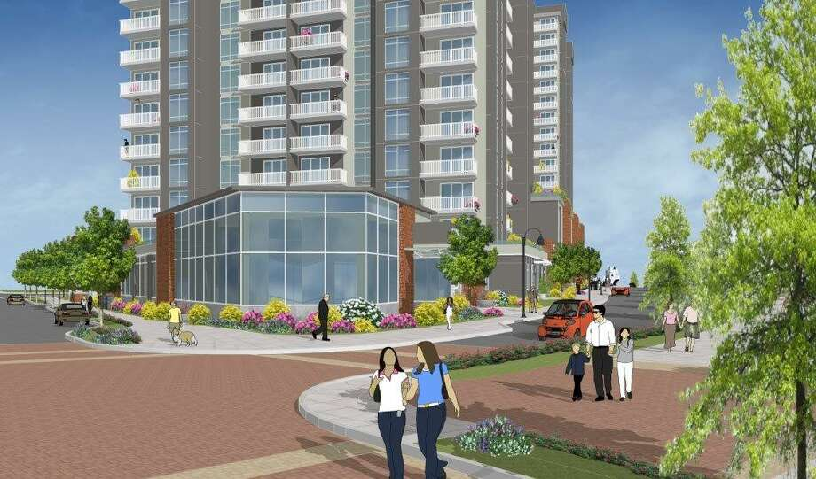 Harbor Point developer Building and Land Technology's newest proposal is for a 16-story residential tower bordering Commons Park. Photo: Contributed / Contributed / Stamford Advocate Contributed