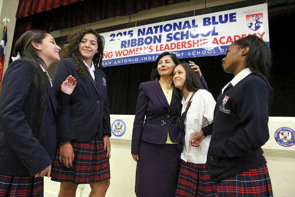 A Blue Ribbon For Young Women S Leadership Academy Expressnews Com
