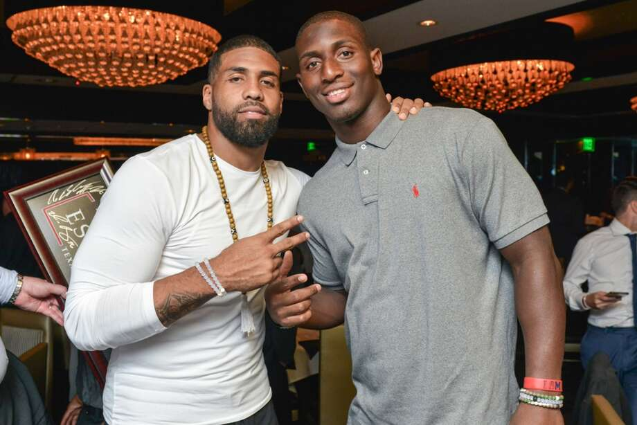 Arian Foster, Alfred Blue