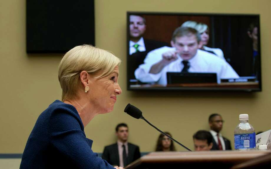 Cecile Richards, president of Planned Parenthood, told the House Oversight and Government Reform Committee on Tuesday that her group was the victim of a vicious smear campaign by abortion rights foes. Photo: STEPHEN CROWLEY, STF / NYTNS