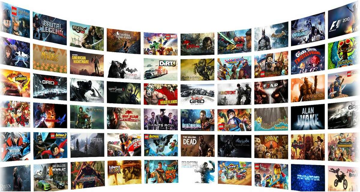 This Nvidia screen shot shows games available to Nvidia Shield owners with a GeForce Now subscription