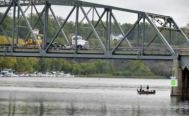 The Rexford Bridge on the Mohawk River Tuesday Sept. 29, 2015 in Niskayuna, NY.  (John Carl D'Annibale / Times Union) Photo: John Carl D'Annibale / 00033533A