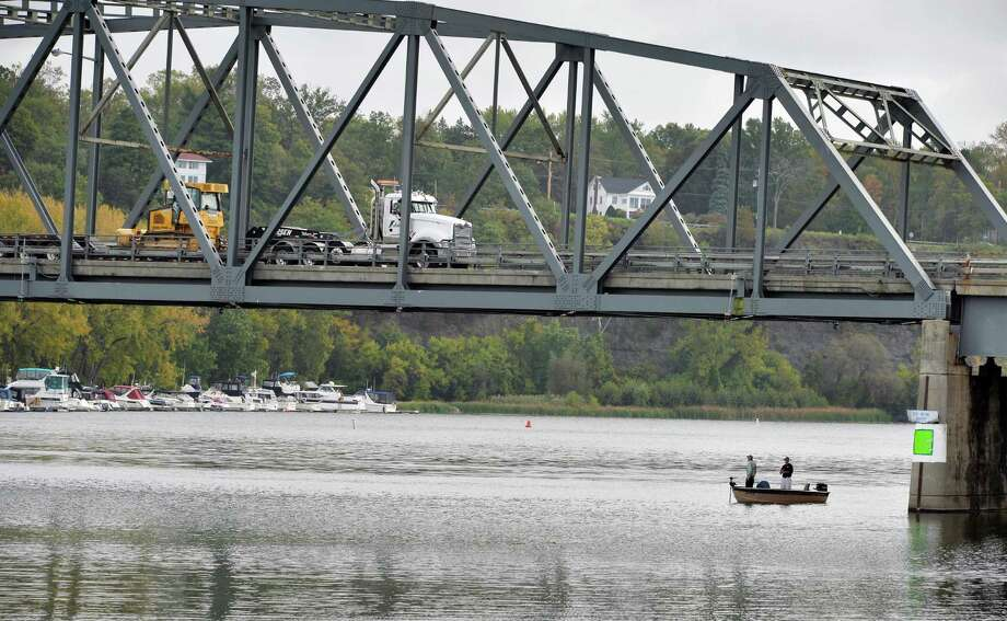 The Rexford Bridge on the Mohawk River Tuesday Sept. 29, 2015 in Niskayuna, NY.  (John Carl D'Annibale / Times Union archive) Photo: John Carl D'Annibale / 00033533A