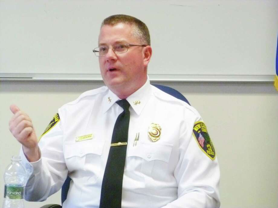 New Canaan Police Chief Leon Krolikowski Photo: Martin Cassidy