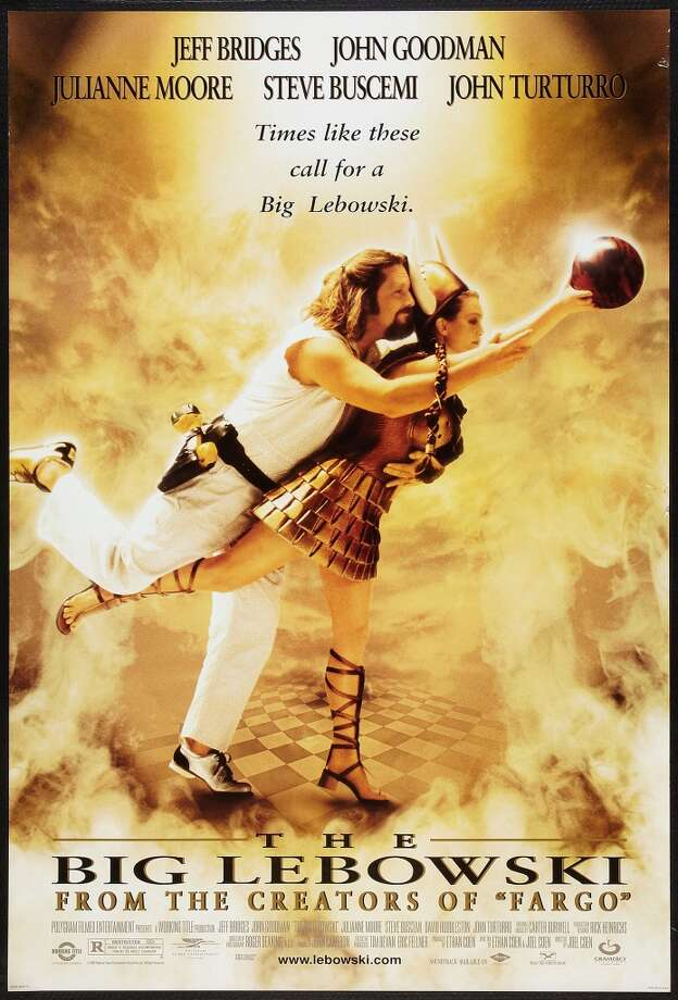 Poster for the movie 'The Big Lebowski,' 1998. (Photo by Buyenlarge/Getty Images) Photo: Getty Images