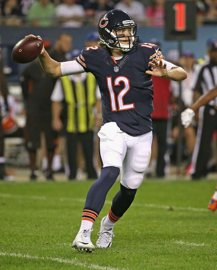 David Fales completed 16 of 21 passes in preseason for 143 yards and two TDs. Photo: Jonathan Daniel, Getty Images