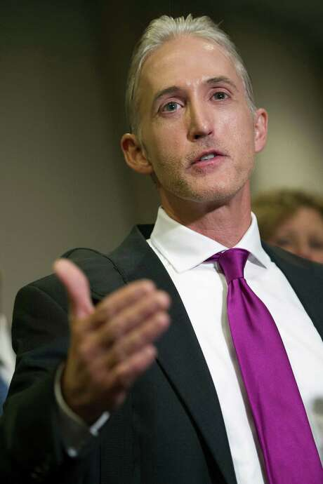 Rep. Trey Gowdy is not active- ly seeking the major- ity leader position. Photo: Cliff Owen / Associated Press / FR170079 AP