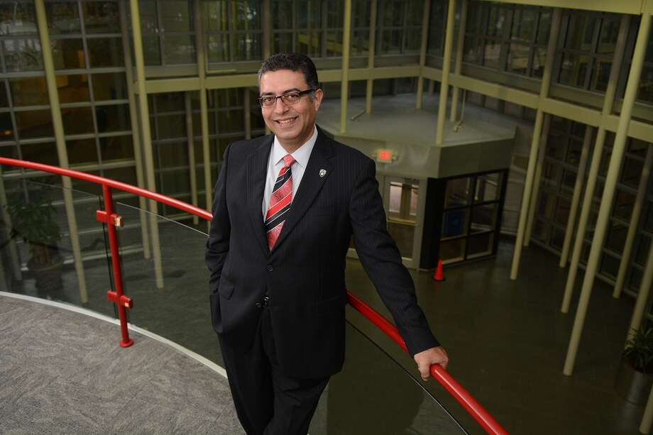 Since becoming president of Lone Star College-University Park in 2012, Shah Ardalan has watched enrollment go from 4,000 to more than 11,000. A 50,000-square-foot science building and a 40,000-square-foot arts building will be added to the campus over the next two years. Since becoming president of Lone Star College-University Park in 2012, Shah Ardalan has watched enrollment go from 4,000 to more than 11,000. A 50,000-square-foot science building and a 40,000-square-foot arts building will be added to the campus over the next two years. Photo: Jerry Baker, Freelance