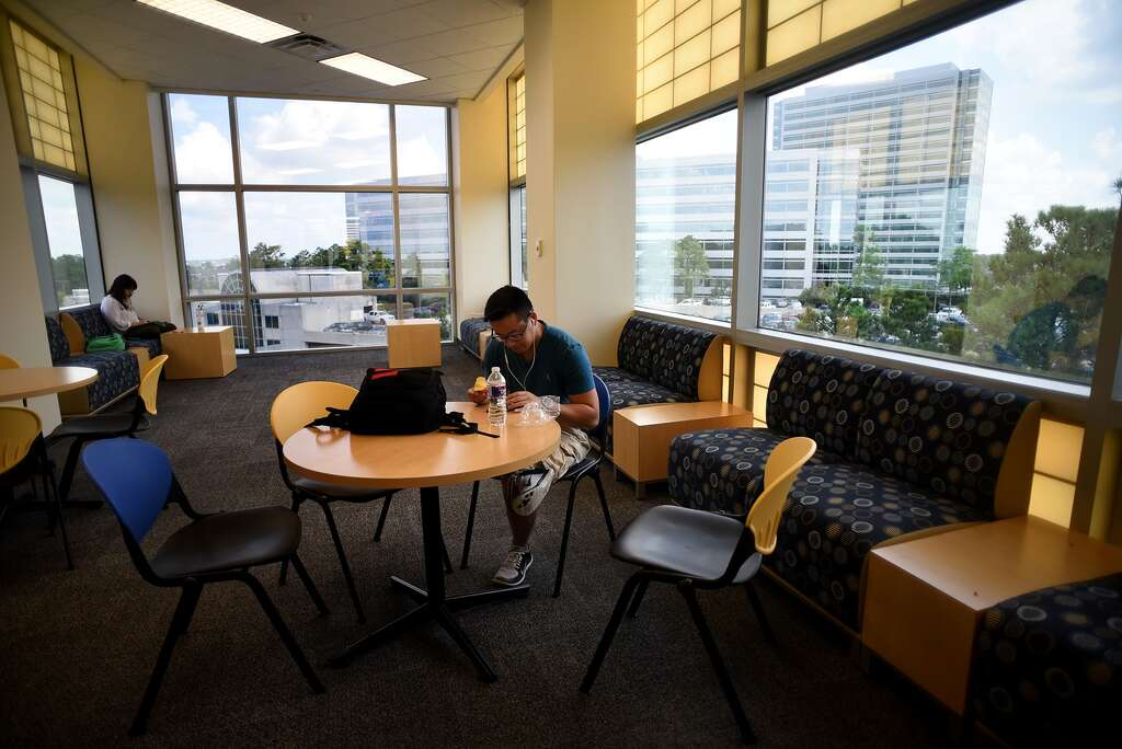 Kenny Nguyen Takes A Break From Classes At Lone Star College University Park It