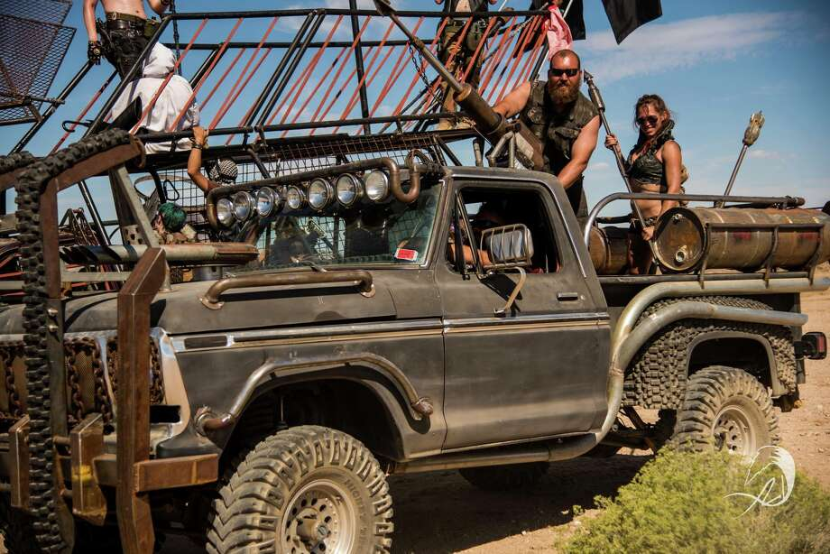 """Wasteland Weekend recreates the post-apocalyptic world of """"Mad Max"""" in the California desert. Photo: Brian C. Danque/X21 Pixelworks"""