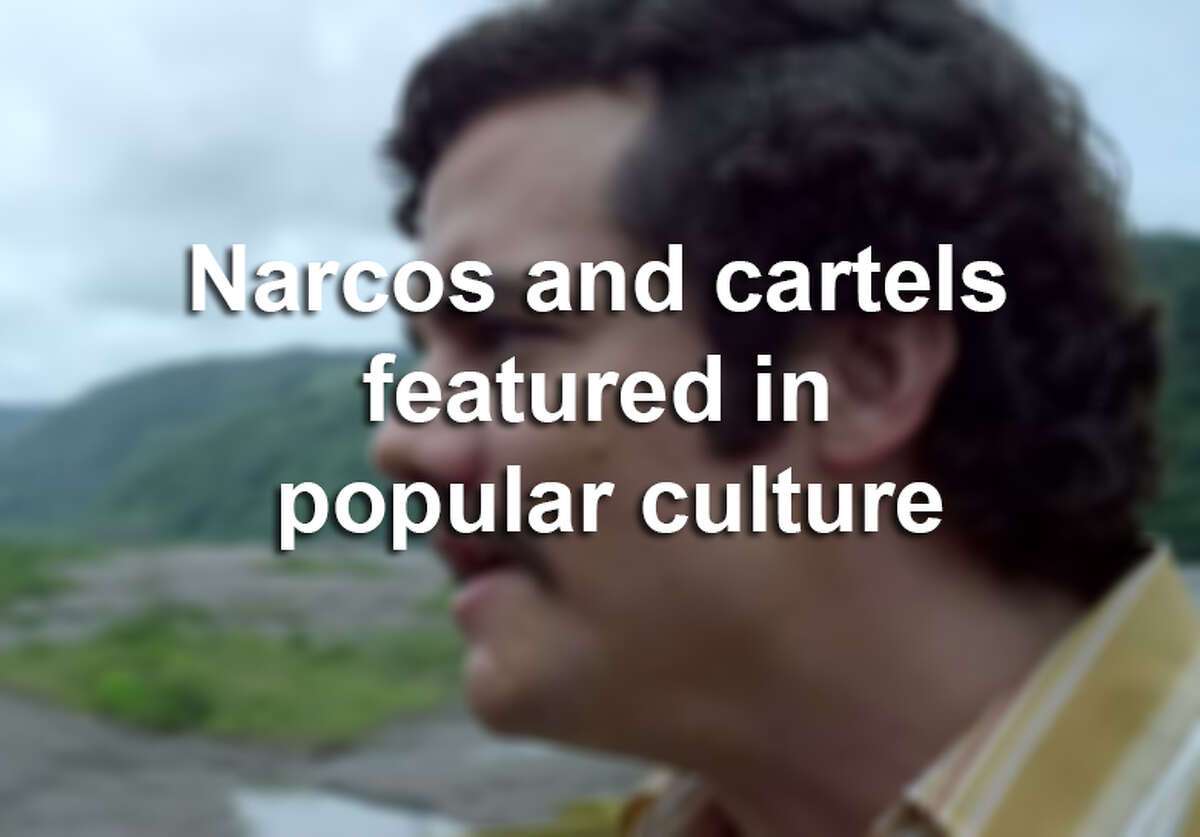 Scroll through the slideshow to see how narcos and cartels have been represented in pop culture.