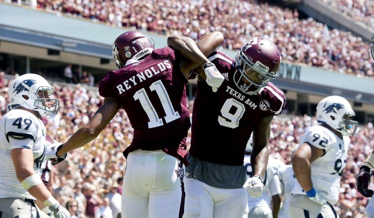 No. 18 Texas A&M Maybe word hasn't gotten back to the AP, but the Aggies play in the S-E-by gawd-C, and the greatest football conference this country has ever seen won't stand for having its school from the Lone Star State being disrespected like this. The SEC has six of the top 16 schools (No. 4 Alabama, No. 10 Florida, No. 11 LSU, No. 14 Tennessee, No. 15 Georgia, No. 16 Auburn) in the AP's rankings, and the Aggies deserve to be at least that high. Then, A&M is flat disrespected by having UCLA ranked a spot ahead of it. That would be the same UCLA Bruins who have been playing football since 1919 and haven't managed to win a single AP national championship. Kick rocks, Bruins. The Aggies will settle this on the field in this season's opener Sept. 3.