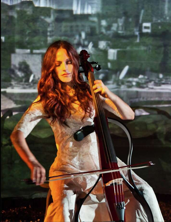 Cellist Maya Beiser uses technology to expand the sound and scope of her music. Photo: Jill Steinberg