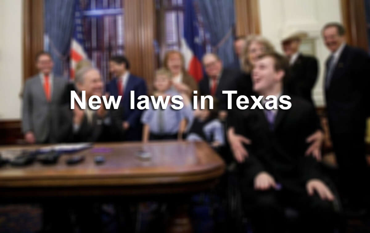 See some of the new laws that took effect in Texas after the new fiscal year began Sept. 1, 2015.