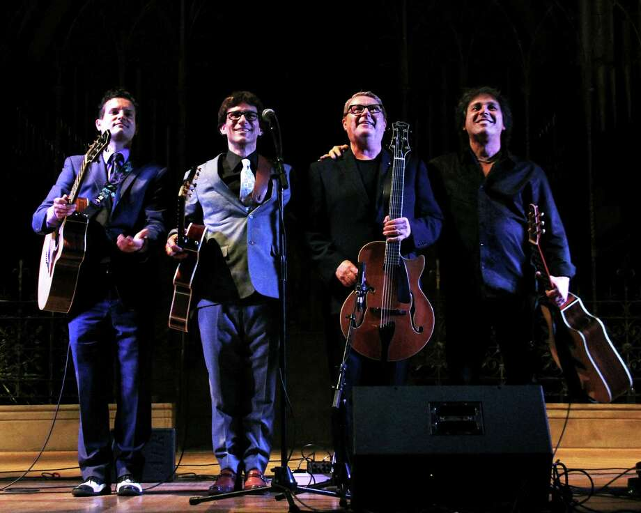 The Great Guitars performs Friday, Oct. 2, at the Regina A. Quick Center for the Arts in Fairfield. Photo: Contributed Photo