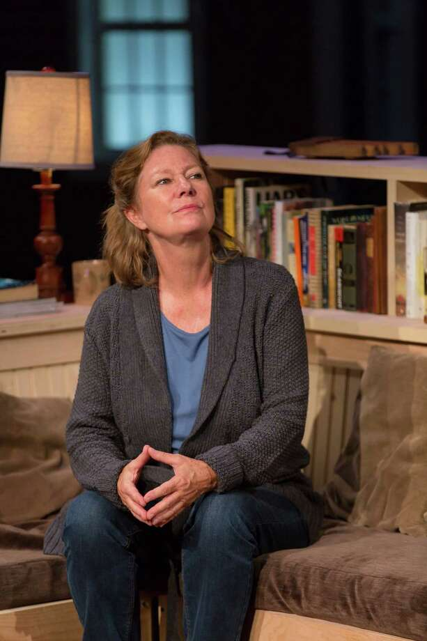 """Deborah Hedwall in a scene from """"An Opening in Time"""" at Hartford Stage. Photo: T. Charles Erickson / Contributed Photo"""