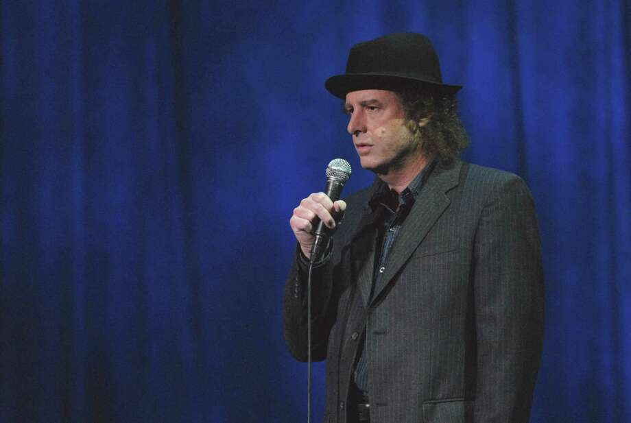 Comedian Steven Wright performs at the Ridgefield Playhouse on Sunday, Oct. 4. Photo: Jorge Rios / Contributed Photo