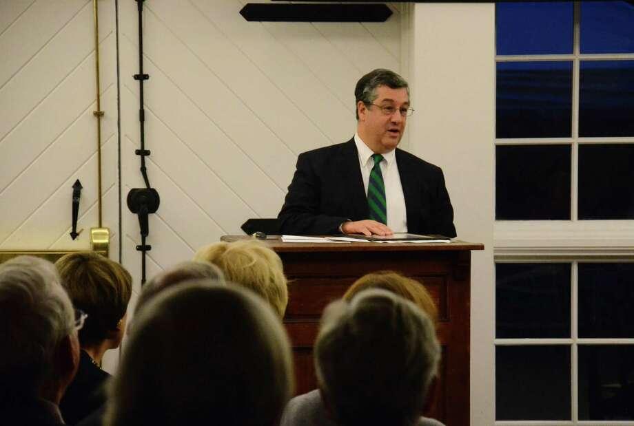 First Selectman Robert Mallozzi is seeking a third term. Photo: File Photo / New Canaan News