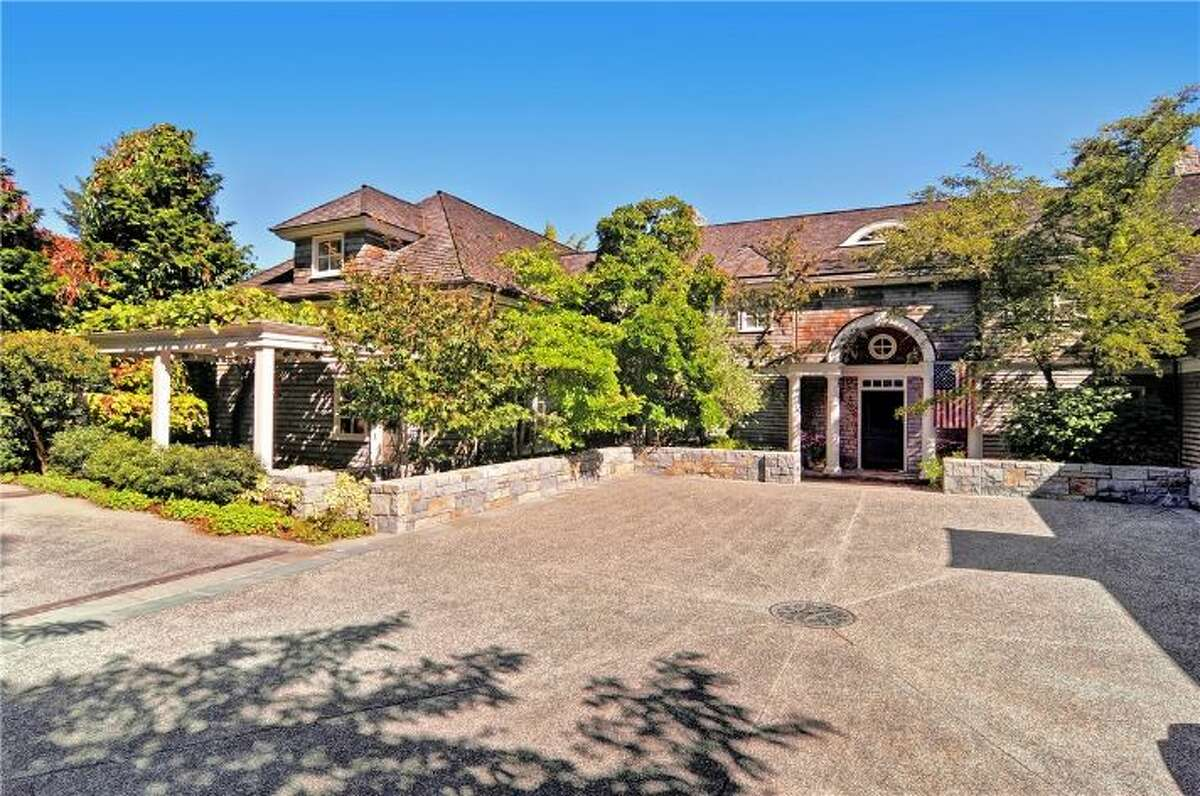 This home, 6238 Lake Shore Drive S., is listed for $6.5 million. The four bedroom, five bathroom home sits right on Lake Washington, and features a backyard swimming pool, sauna and gym. You can see the full listing here.