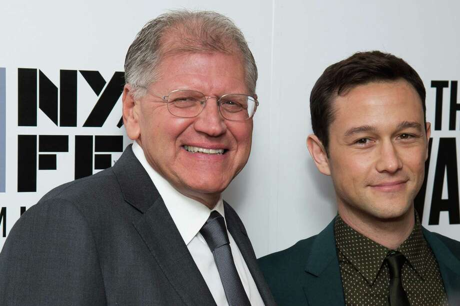"Robert Zemeckis, left, and Joseph Gordon-Levitt attend the New York Film Festival opening night gala premiere for ""The Walk"" at Alice Tully Hall on Saturday, Sept. 26, 2015, in New York. (Photo by Charles Sykes/Invision/AP) ORG XMIT: NYCS105 Photo: Charles Sykes / Invision"