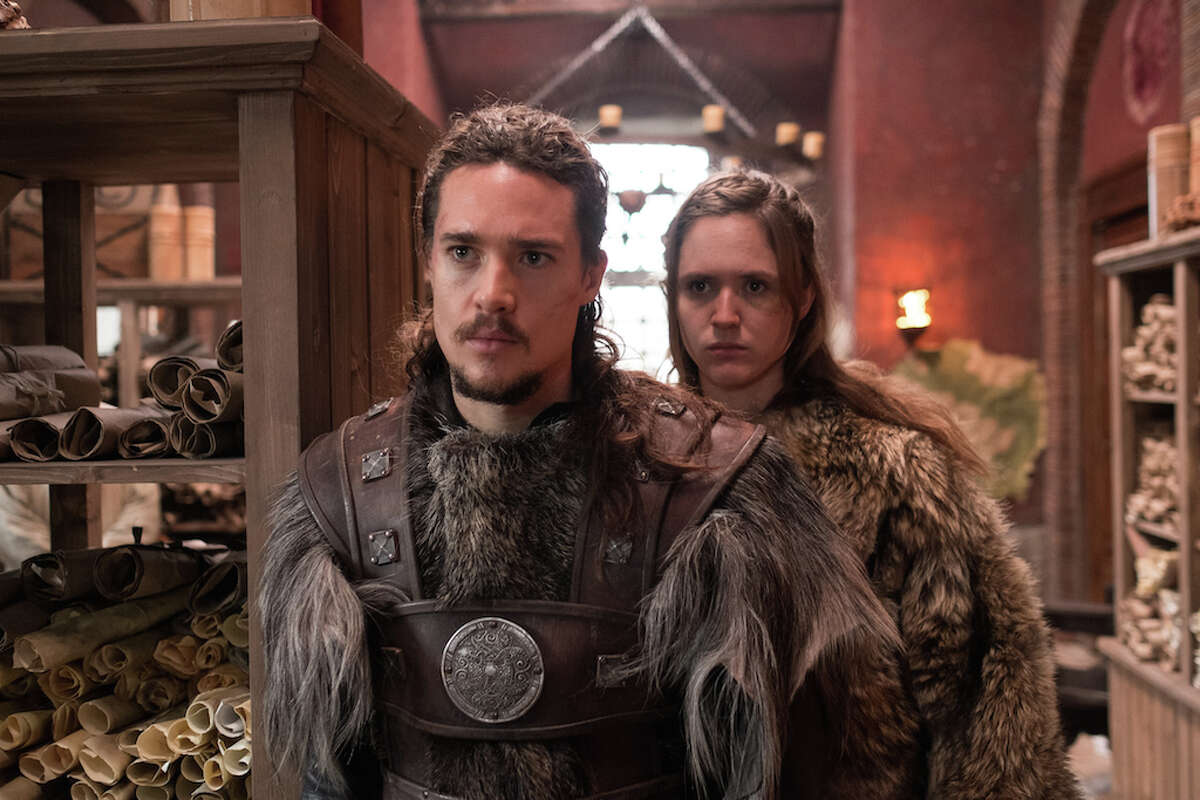"""""""The Last Kingdom""""Genre: British dramaAs Alfred the Great defends his kingdom from Norse invaders, Uhtred -- born a Saxon but raised by Vikings -- seeks to claim his ancestral birthright."""