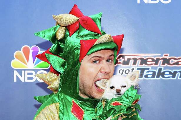Contestant Piff the Magic Dragon attends the 'America's Got Talent' season 10 taping at Radio City Music Hall on August 11, 2015 in New York City.