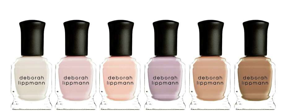 Deborah Lippmann's holiday nail color collections include Undressed -- Shades of Nude, a six-piece collection of nude nail lacquers. Photo: Deborah Lippmann