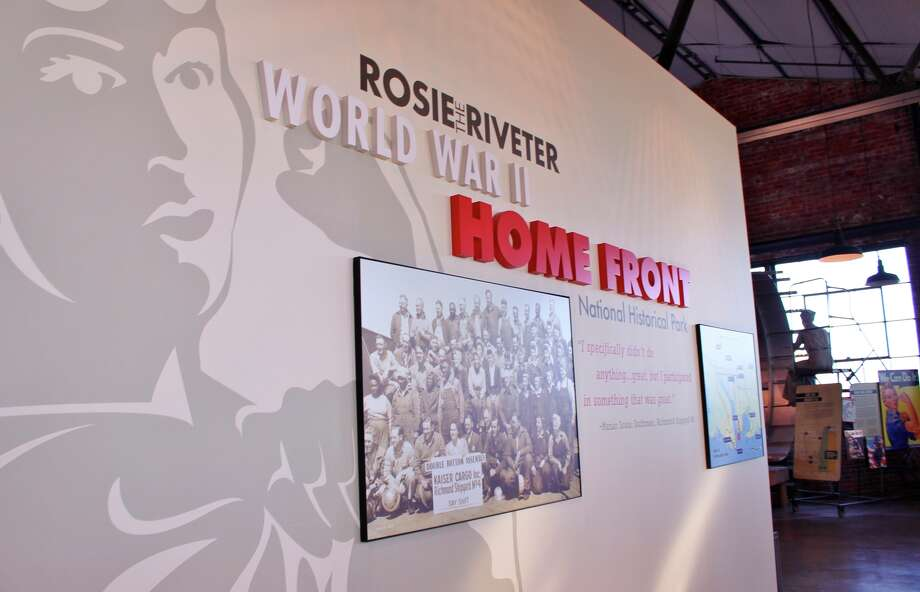 The Rosie the Riveter/WWII Home Front National Historical Park in Richmond honors women's stereotype-busting work.