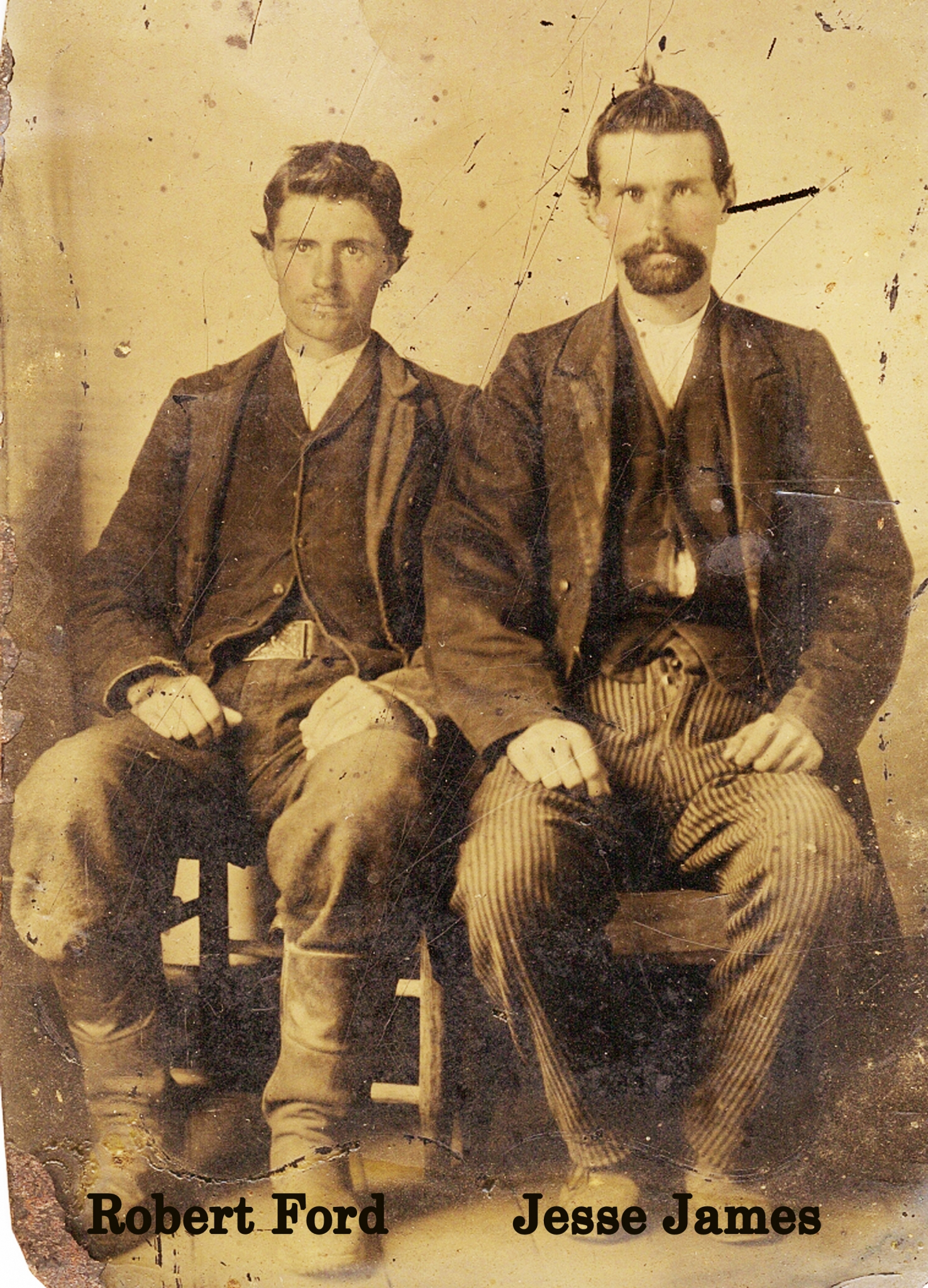 Lost Photo Of Jesse James Assassin Robert Ford Is Found