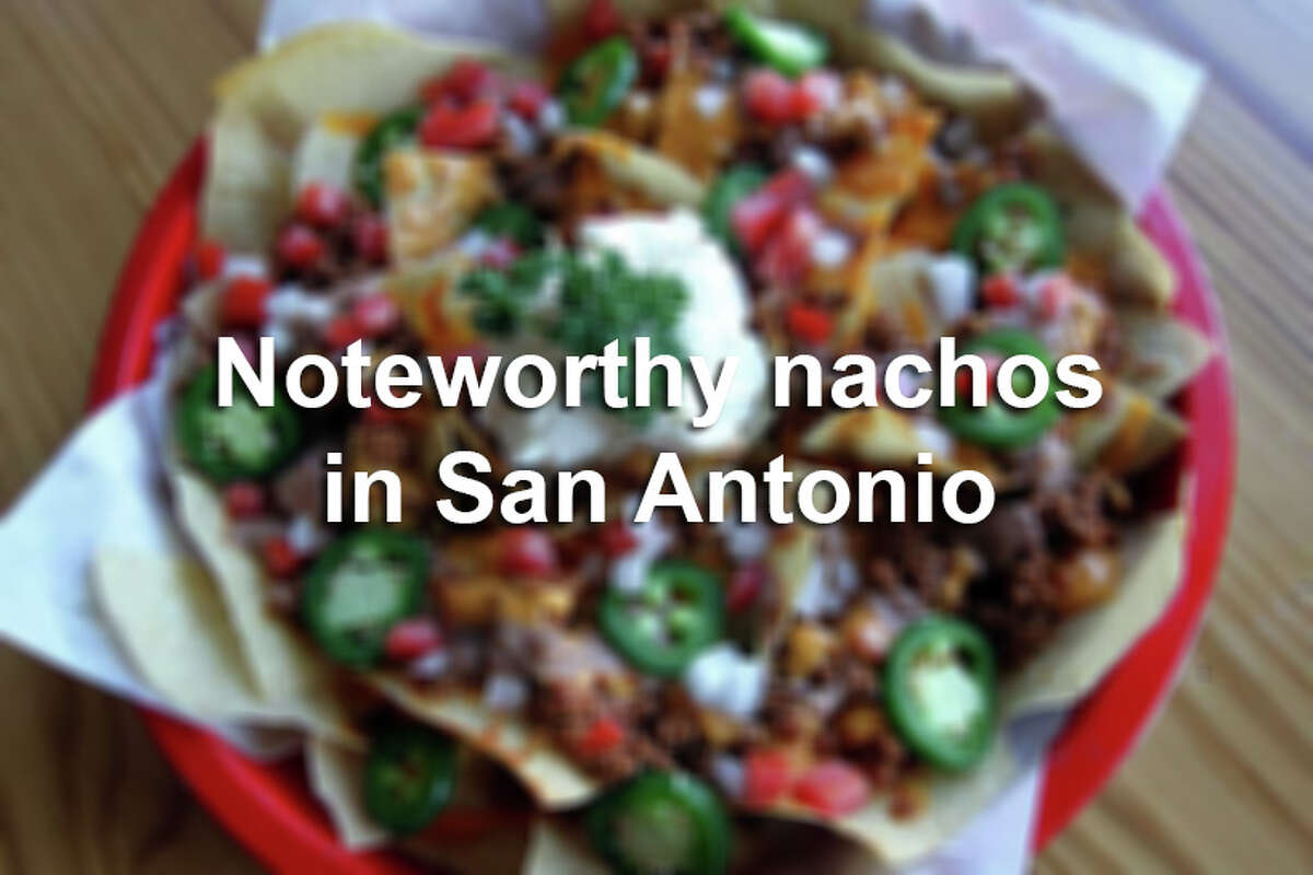Click through the slideshow to see some of the best nachos from around the Alamo City.