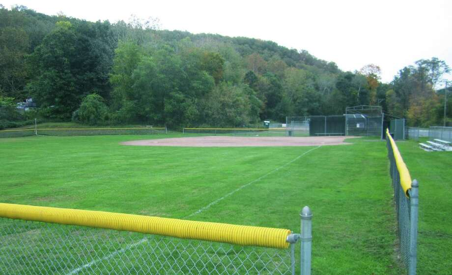 A field at the Garick Park baseball/softball complex along Boardman Road is the site of the original diamond cut in the 1950s for Little League games. Photo: File Photo / The News-Times
