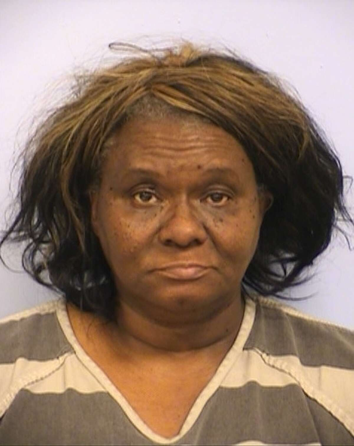 Ethel Jean Banks, 61, has been charged with aggravated assault - family violence, a second-degree felony punishable by a maximum 20-year prison sentence. She has been accused of pulling a knife on her brother and threatening to kill him after he ate her barbecue ribs.