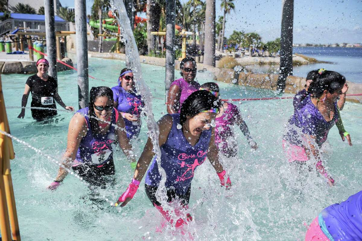 On Saturday, Oct. 10, the Gritty Goddess women's obstacle run returns to Moody Gardens in Galveston.