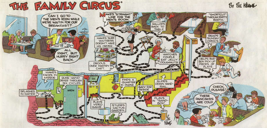 The Family Circus (1960 – Present) by Bil Keane