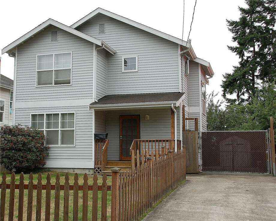 The first home, 2505 S. Norman St., is listed for $474,950. The three bedroom, 1.5 bathroom home has a large backyard and views of Mount Rainier.  There will be a showing for this home on Saturday, Oct. 3 from 1 - 4 p.m. You can see the full listing here. Photo: Darrin Stumpf/John L. Scott