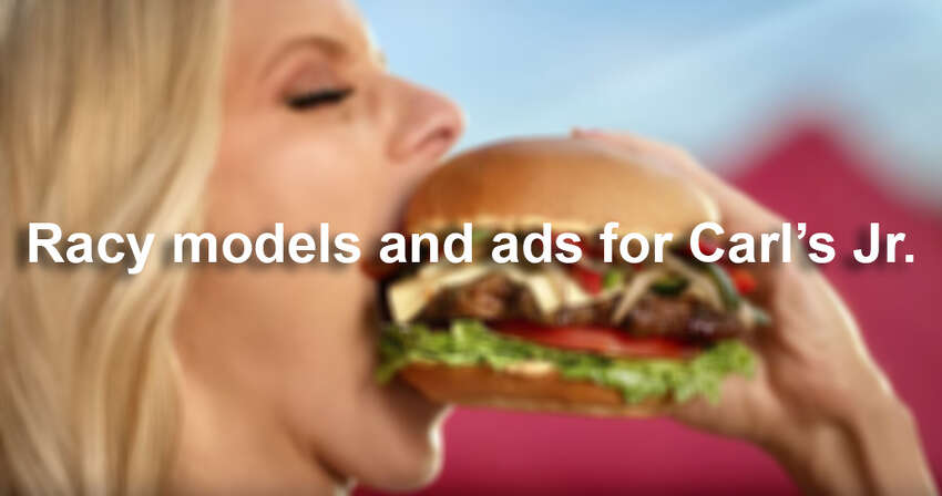 Carl's Jr. has a history of using sex to sell its burgers. Here's a look at juicy ads from the past.