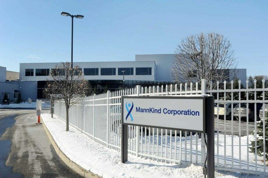 Mannkind's manufacturing facility located in Danbury. Photo: / File Art