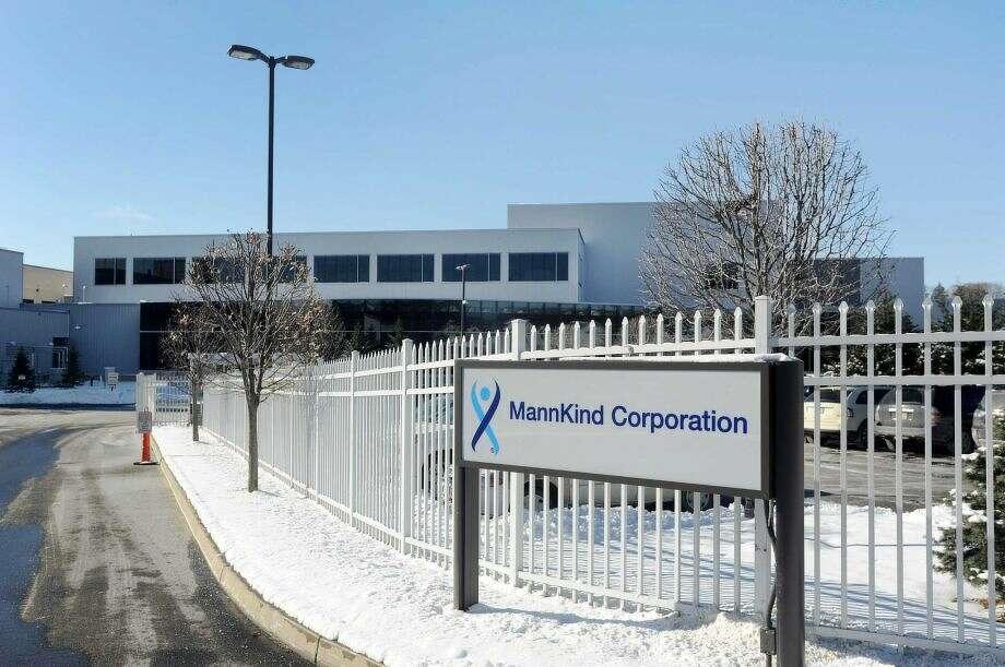 Mannkind's manufacturing facility located in Danbury. Photo: / File Art