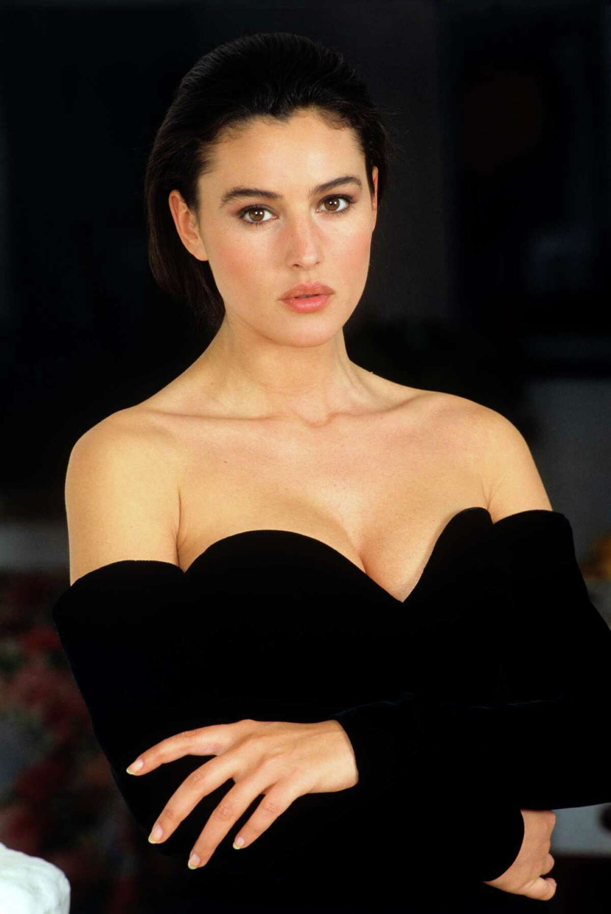 Italian actress and model Monica Bellucci, seen here in a 1985 photo, was born Sept. 30, 1964. While her career has been far from award-winning, she has carried on the long cinematic tradition of the Italian bombshell that arguably began with Sophia Loren. American moviegoers perhaps best remember her as Persephone in