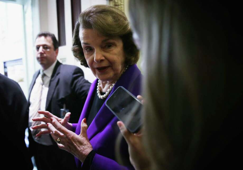 Sen. Dianne Feinstein, D-Calif.,  supports the Toomey plan. Photo: Alex Wong, Staff / 2014 Getty Images