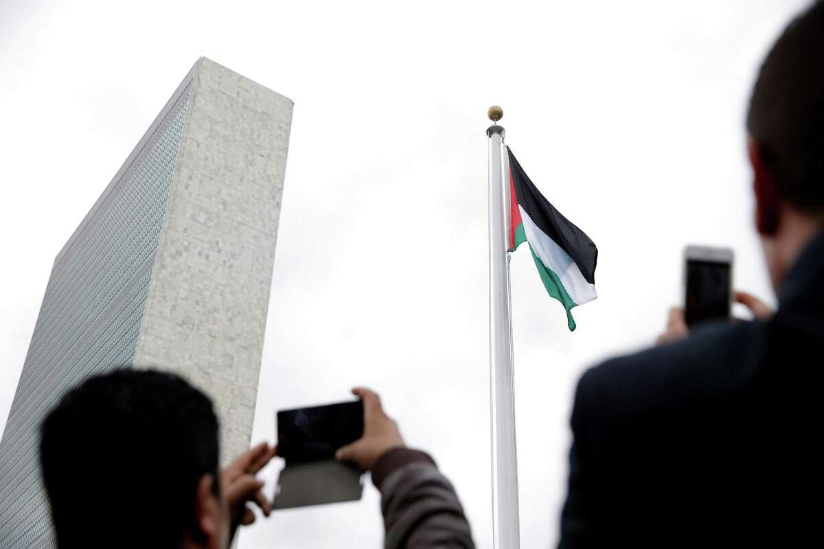 FILE. Letter writer says, 'Palestine has a right to exist, and the Palestinian people deserve to live in dignity yet, every day, the Palestinian people endure the hardship and humiliation imposed by the Israeli military occupation.' (AP Photo/Seth Wenig)
