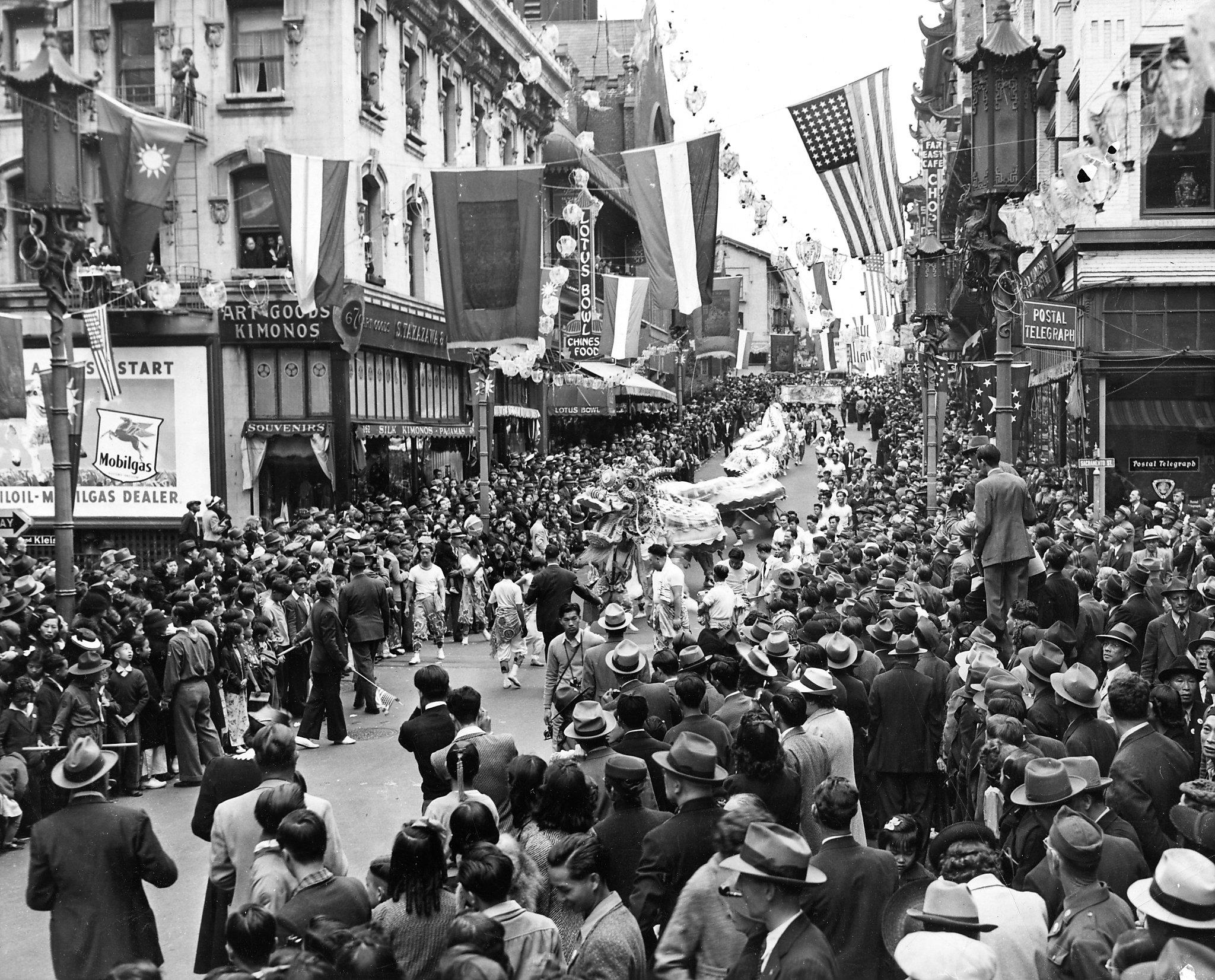 """Our SF: The """"extraordinary pageant"""" of an 1887 Chinatown ..."""