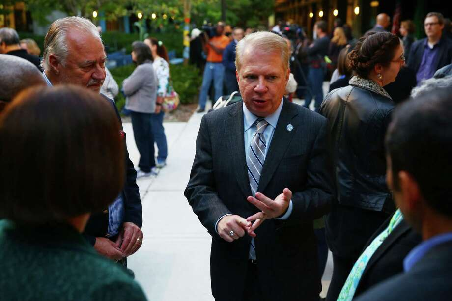 """Mayor Ed Murray: """"Seattle will continue to speak out against injustice and stand with those fighting for equality."""" Photo: GENNA MARTIN, SEATTLEPI.COM / SEATTLEPI.COM"""